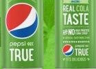 Pepsi True jest słodzona mieszanką cukru i stewii