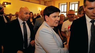 Spotkanie z Beatą Szydło w Sosnowcu