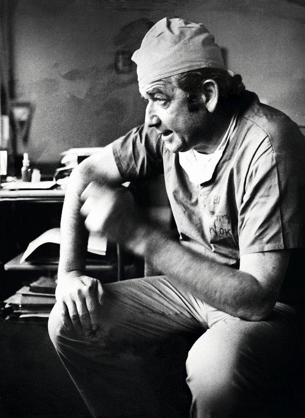 Profesor Zbigniew Religa (fot. Grzegorz Celejewski)