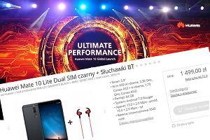 Huawei Mate 10 Lite wyciekł z polskiego sklepu internetowego na minuty przed premierą