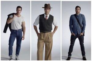100 lat mody męskiej w 3 minuty. Od 1915 do współczesności [WIDEO]
