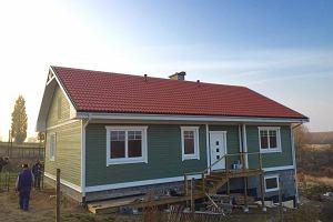 Skandynawski dom koło Gniezna