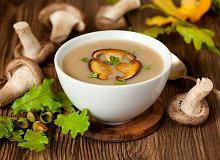 Grzybowa zupa krem - ugotuj