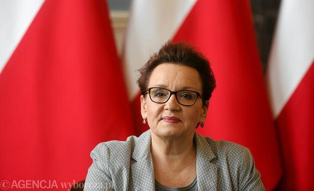 Oceniamy rząd PiS. Anna Zalewska, minister edukacji. Ocena 1+