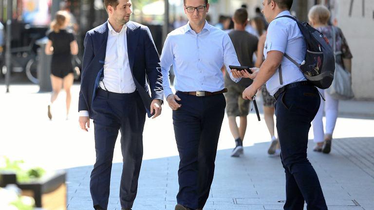 Patryk Jaki i Waldemar Buda - kandydaci w wyborach samorządowych 2018
