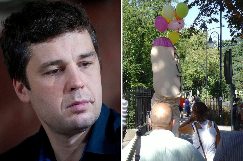 Michał Rachoń ma być teraz nową twarzą 'Wiadomości'. 1 września 2009 r. przebrał się za penisa z wielkim napisem 'Putin'  i przed hotelem w Sopocie,  gdzie premier Tusk spotkał się z ówczesnym premierem Rosji, wykrzykiwał: 'Putin morderca!'