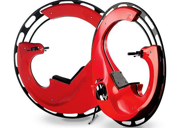 The Motorized Monocycle. Cena: 13 000 dol.