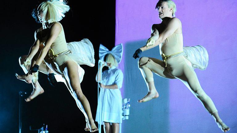 Sia podczas Kraków Live Festival