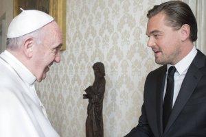 Leonardo DiCaprio i Papie� Franciszek