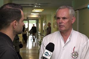 Prof. Harat: Tomasz Gollob przez kilka dni będzie podłączony do respiratora
