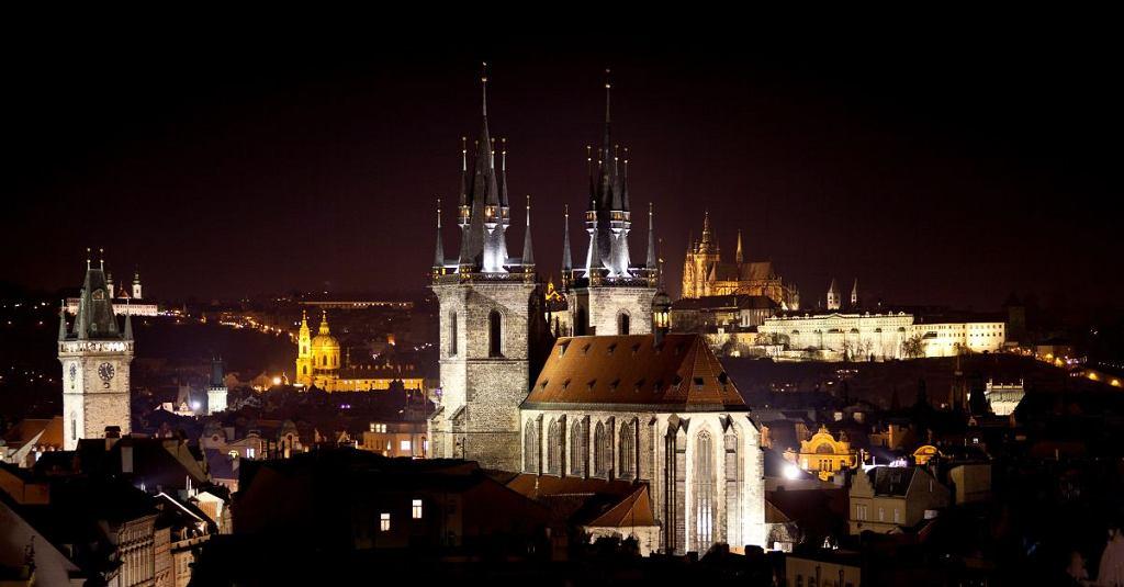 Praga nocą / materiały promocyjne Republiki Czeskiej