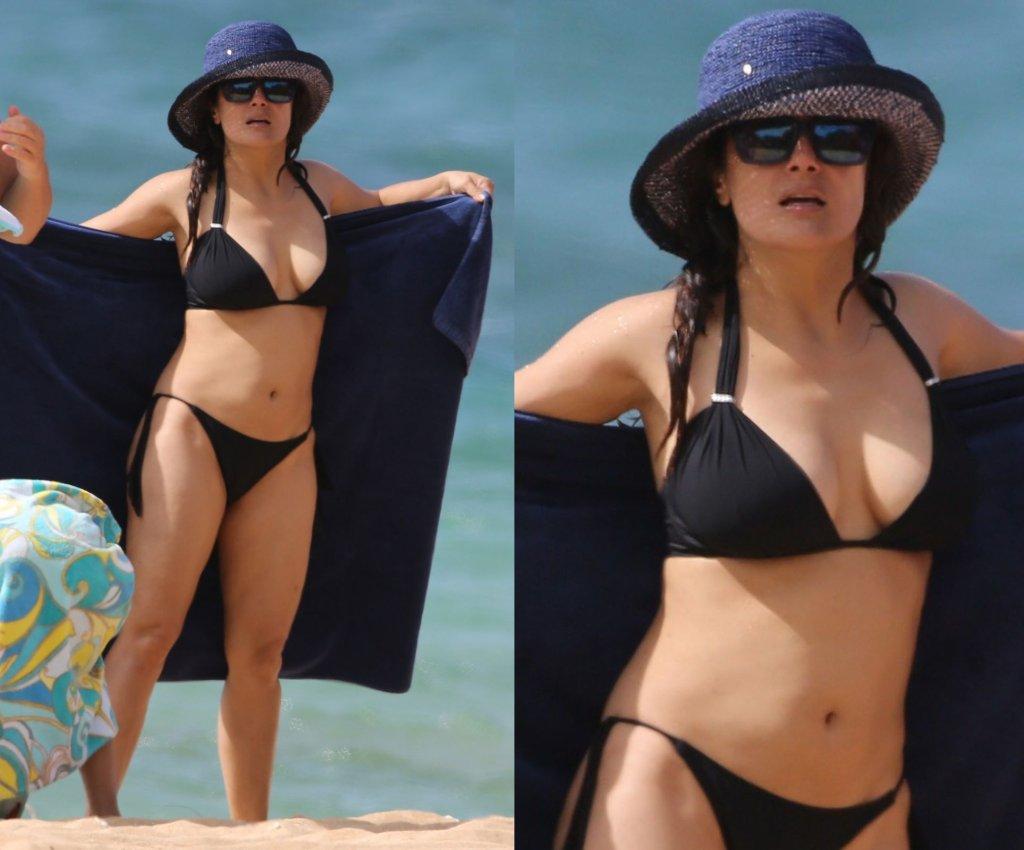 sa ma hayek bikini