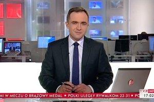 Prezenter TVP Info wzdycha za swobod�