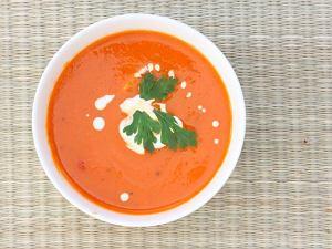 Zupa krem z pieczonych pomidor�w