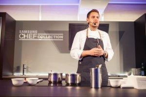 Wojciech Modest Amaro twarz� Samsung Chef Collection - urz�dze� AGD klasy premium