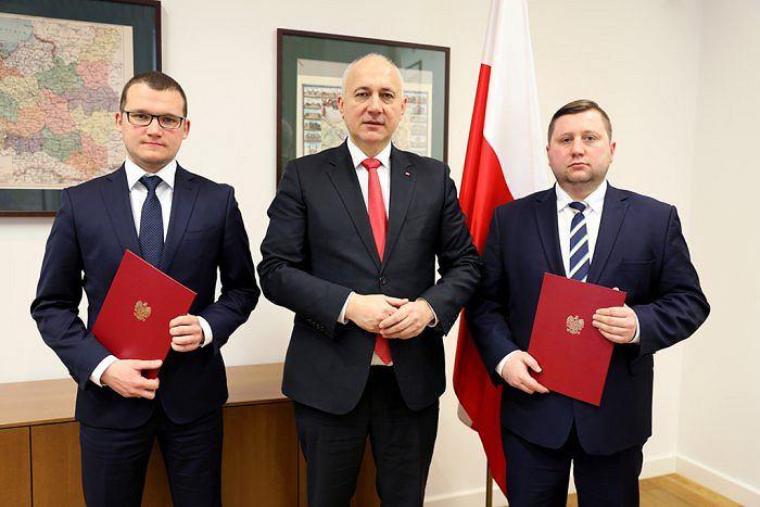 Paweł Szefernaker, Joachim Brudziński i Paweł Majewski
