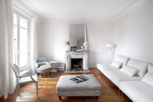 Wn�trza: paryskie mieszkanie ca�e w bieli