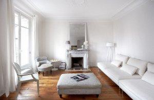 salon bia o szary wn trza aran acje wn trz inspiracje. Black Bedroom Furniture Sets. Home Design Ideas