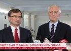 Pos�owie z partii Gowina i Ziobry utworz� w Sejmie nowy klub: Sprawiedliw� Polsk�
