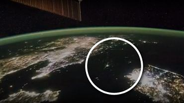 Ciemności panujące nad Koreą Północną