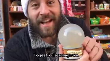 Kula smogowa - nowa pamiątka z Warszawy