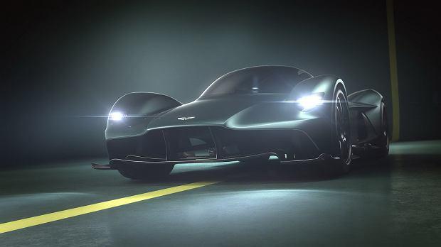 Aston Martin Valkyrie będzie miał ponad 1100 KM mocy!