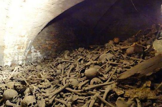 Tajemnicza krypta w gdańskim kościele św. Brygidy. A w niej czaszki i kości