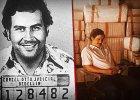 """Pablo Escobar - z lewej na zdj�ciu policyjnym z pocz�tk�w przest�pczej kariery, z prawej sportretowany przez Wagnera Mour� w """"Narcos"""""""