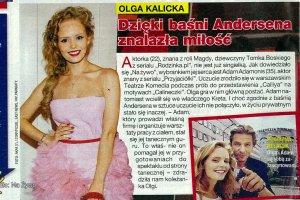 """Olga Kalicka z """"Rodzinki.pl"""" ma romans z o 13 lat starszym aktorem? Pytamy. Ona zdradza wi�cej"""