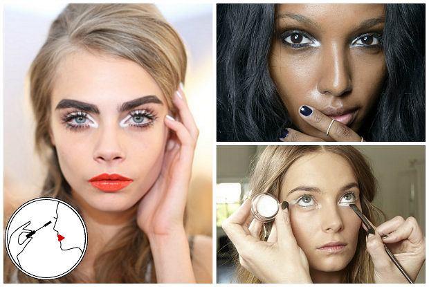Biała kredka - 10 sposobów na jej wykorzystanie w makijażu. Spróbujecie?