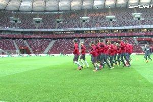 Ostatni trening Biało-Czerwonych przed decydującym meczem z Irlandią
