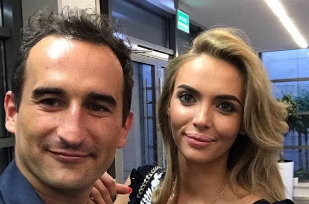 Marcelina Leszczak i Michał Koterski zostaną rodzicami. Zdjęcie na którym widać ciążowy brzuch opublikował Koterski na swoim Instagramie.