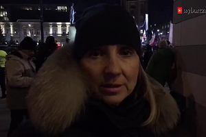 Rocznica stanu wojennego. Demonstracja PiS na placu Trzech Krzyży