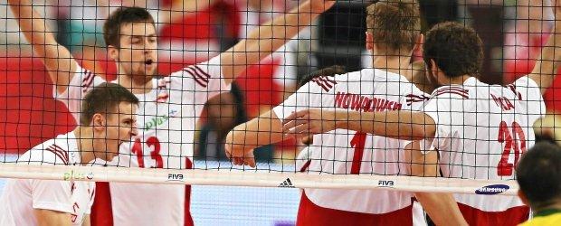 """Polska Brazylia 16:15. S�dzia m�wi: punkt dla Brazylii. Polacy """"sprawdzaj�"""". I co? 17:15! Set i mecz!"""