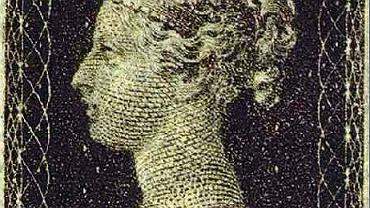 Na pierwszym znaczku na świecie, czarnej jednopensówce z 1840 r., znalazł się profil młodej królowej Wiktorii.