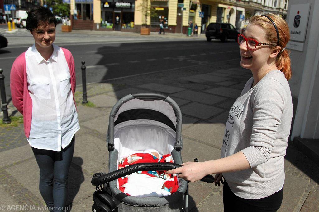 Aleksandra Fudali i Zuzanna Pajewska nie mogły uwierzyć, że miasto chce płacić na maluchy aż 500 zł miesięcznie