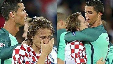 Ronaldo nie cieszy� si� wraz z kolegami po pokonaniu Chorwat�w. Dlaczego? Wzruszaj�ce wyt�umaczenie!