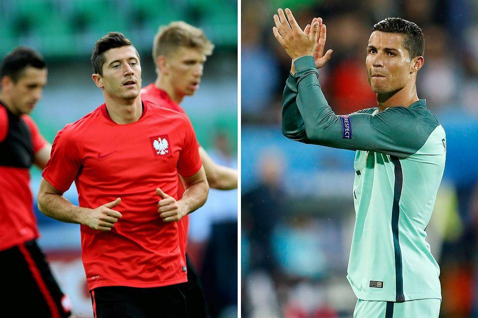 d836d4689 Polska - Portugalia w ćwierćfinale Euro 2016. Jak porównać Cristiano  Ronaldo z Robertem Lewandowskim?