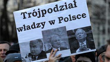 Demonstracja w obronie demokracji w Lublinie, 12 grudnia