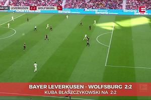 Leverkusen - Wolfsburg 2:2. Gol Błaszczykowskiego [ELEVEN SPORTS]