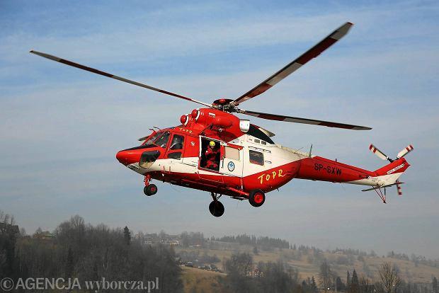Lawina w Tatrach porwa�a dwie osoby. Jedna osoba powa�nie ranna