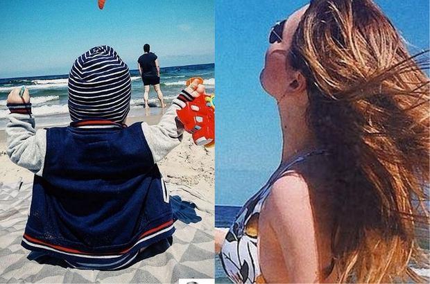 Magdalena Lamparska wybrała się z partnerem i kilkumiesięcznym synem nad Bałtyk. Na Instagramie opublikowała pierwsze po urodzeniu dziecka  zdjęcie w kostiumie kąpielowym, na którym wygląda bardzo szczupło.