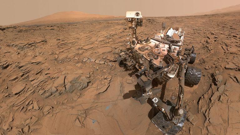 Łazik Curiosity na Marsie. Następne będą m.in. same się naprawiać