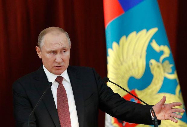 Zdjęcie numer 2 w galerii - Putin zaprasza Trumpa do Moskwy. Twierdzi, że rozmowy telefoniczne nie są wystarczające
