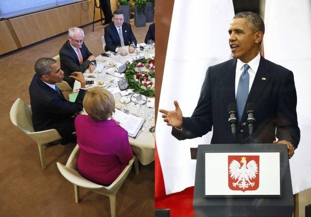 """Media w USA o wizycie Obamy: """"Zawrotny kontrast"""" wschodu i zachodu Europy wobec Rosji"""