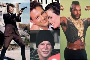 Steven Seagal na spotkaniu z Aleksandrem �ukaszenk� pokaza� farbowane w�osy i brod�. Mickey Rourke po operacjach plastycznych nie przypomina siebie. Clint Eastwood starzeje si� szlachetnie. A inni bohaterowie kina akcji z lat 80. i 90.? Mr. T, kt�ry zagra� w Dru�ynie A, ma dzisiaj 64 lata. Zobaczcie, jak wygl�da teraz.