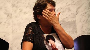 Pani Wiesława, matka zamordowanej 35-letniej Agaty M.