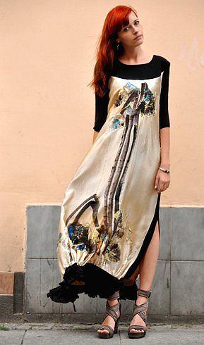 5b6ce76f5fa7 Zdjęcie numer 4 w galerii - Pokaz mody bydgoskiej projektantki. Oto jej  ubrania  ZDJĘCIA