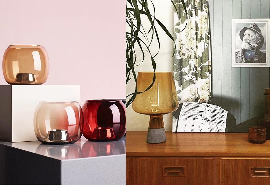 Lampa i świeczniki z kolekcji Iittala
