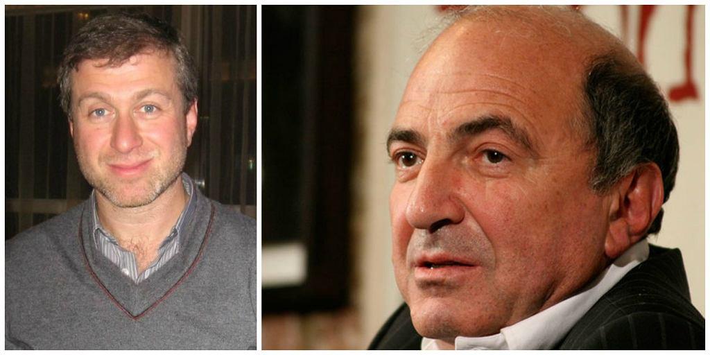 Roman Abramowicz i Borys Bierezowski. Ten ostatni już nie żyje, w 2013 r. popełnił samobójstwo (fot. Mark Freeman / Wikimedia.org / CC-BY-2.0 / Wikimedia.org / Fair use)